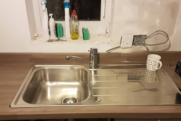 Kitchen Sink & Tap